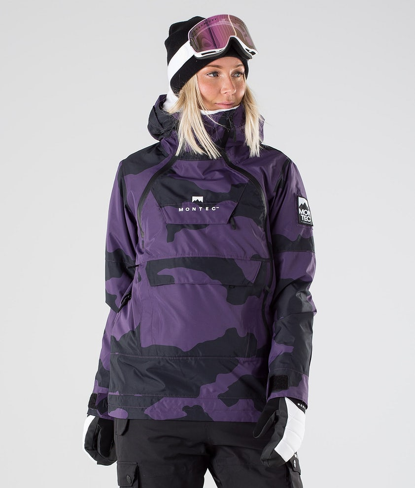 Montec Doom W Snowboard Jacket Grape Camo