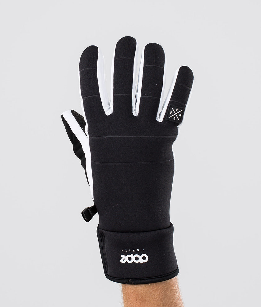 Dope Signet Glove Gants de Ski Black White