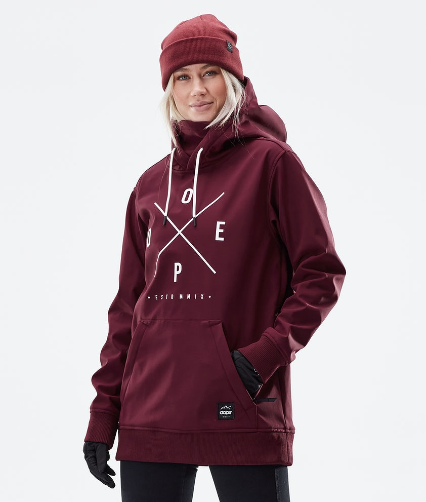 Dope Yeti W Winter Jacket Burgundy