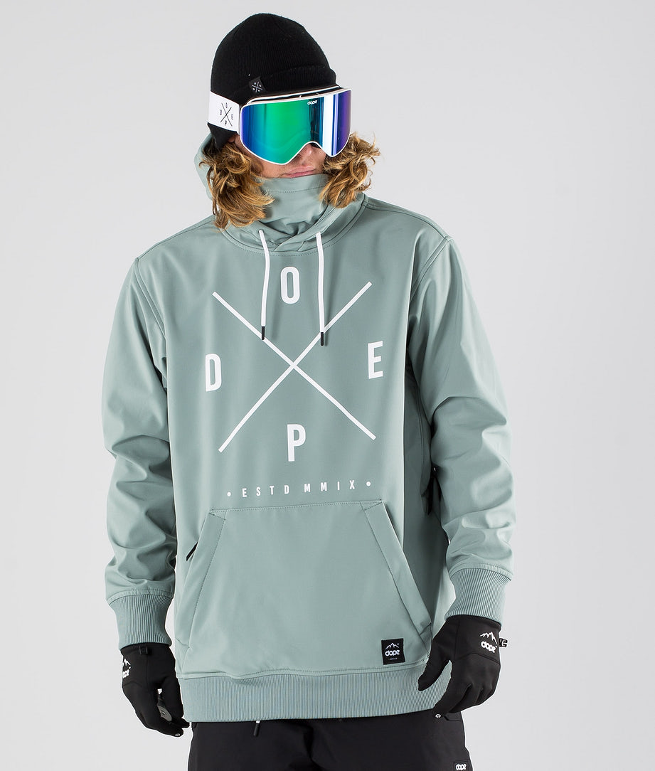 Dope Yeti Ski Jacket Faded Green