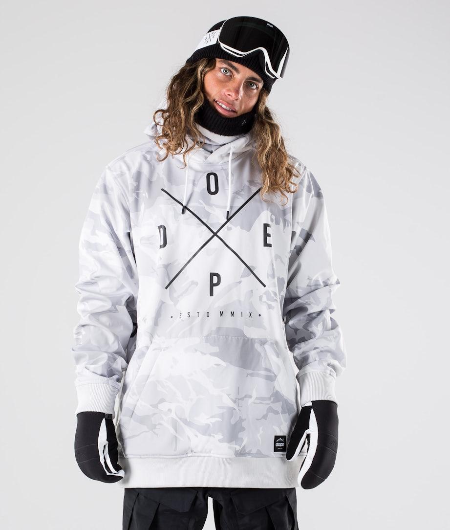Dope Yeti Ski Jacket Tux Camo