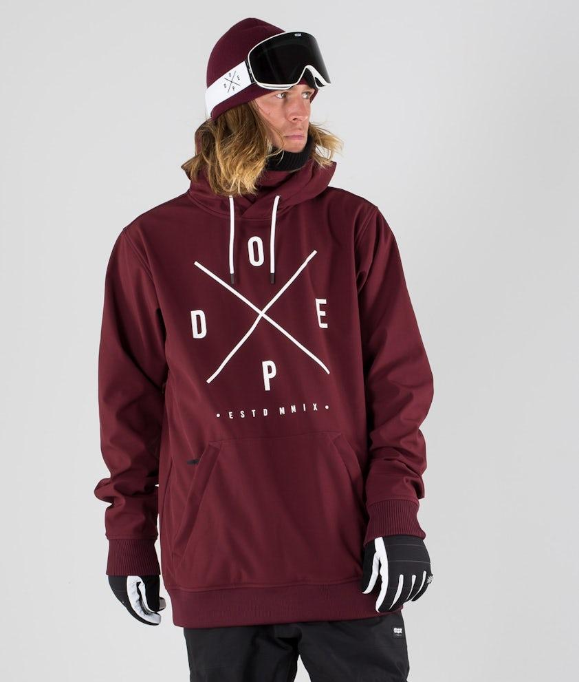 Dope Yeti Skijakke Burgundy