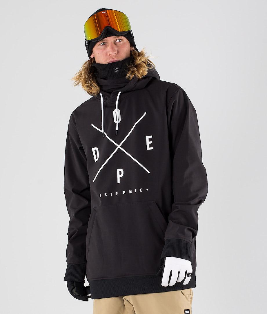 Dope Yeti Skijacke Black