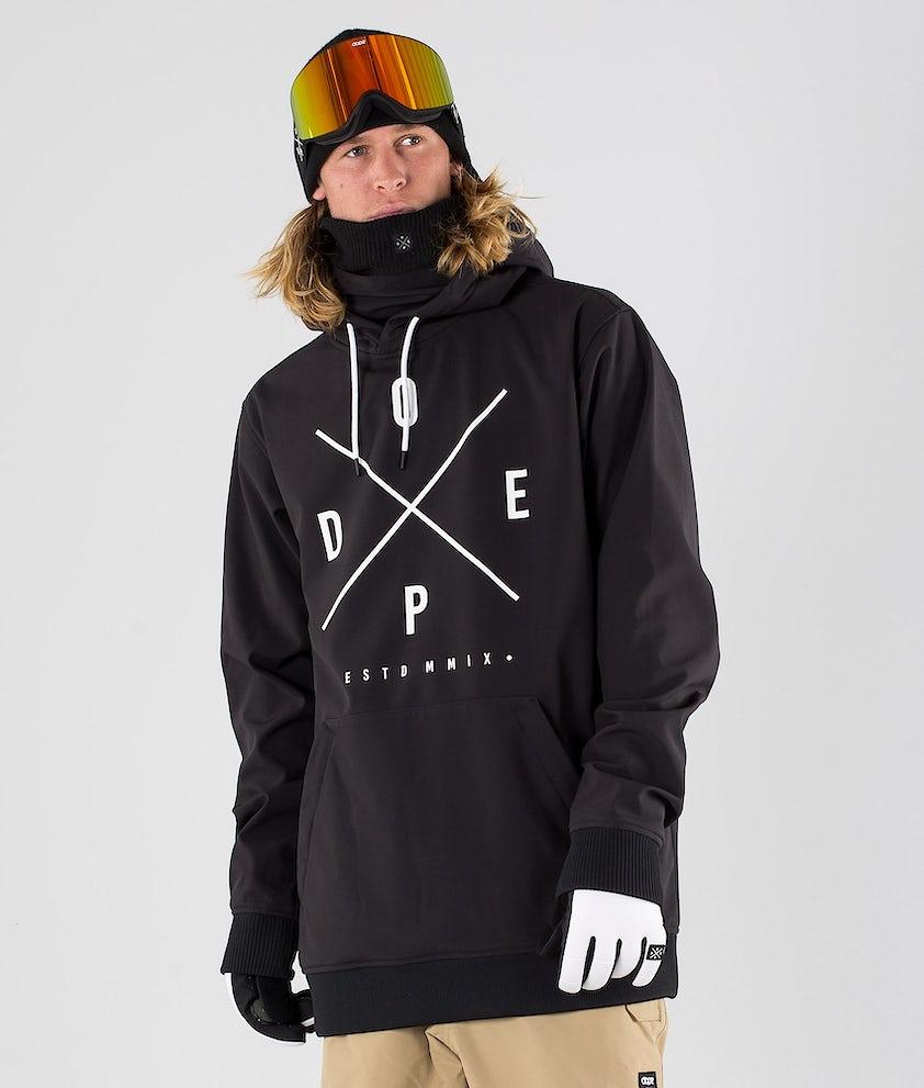 Dope Yeti Skijakke Black