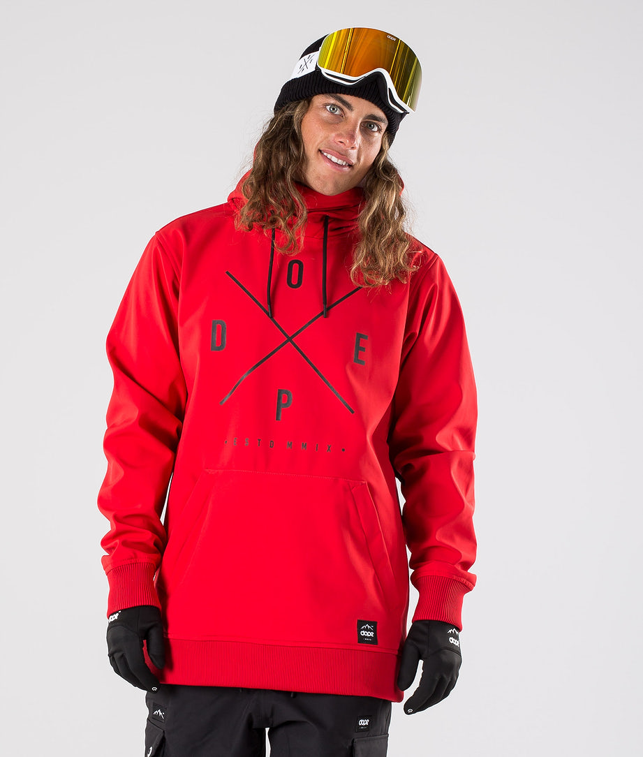 Dope Yeti Skijacke Red