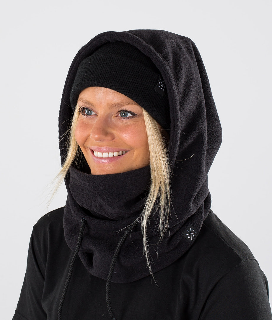 Dope Cozy Hood Skimaske Black