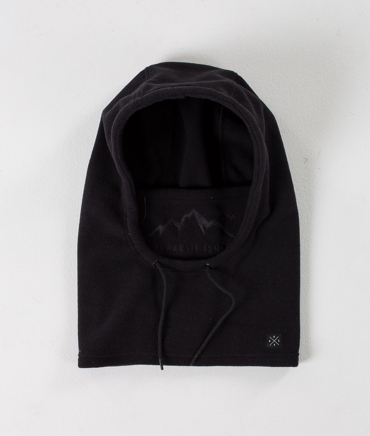 Dope Cozy Hood Facemask Black