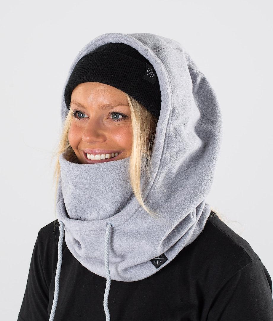 Dope Cozy Hood Skimaske Light greyel