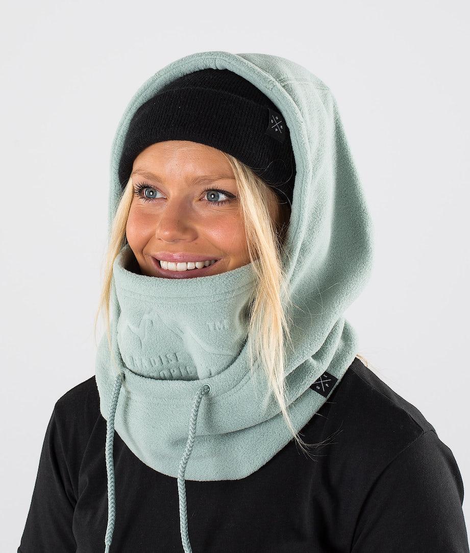 Dope Cozy Hood Skimaske Faded Green