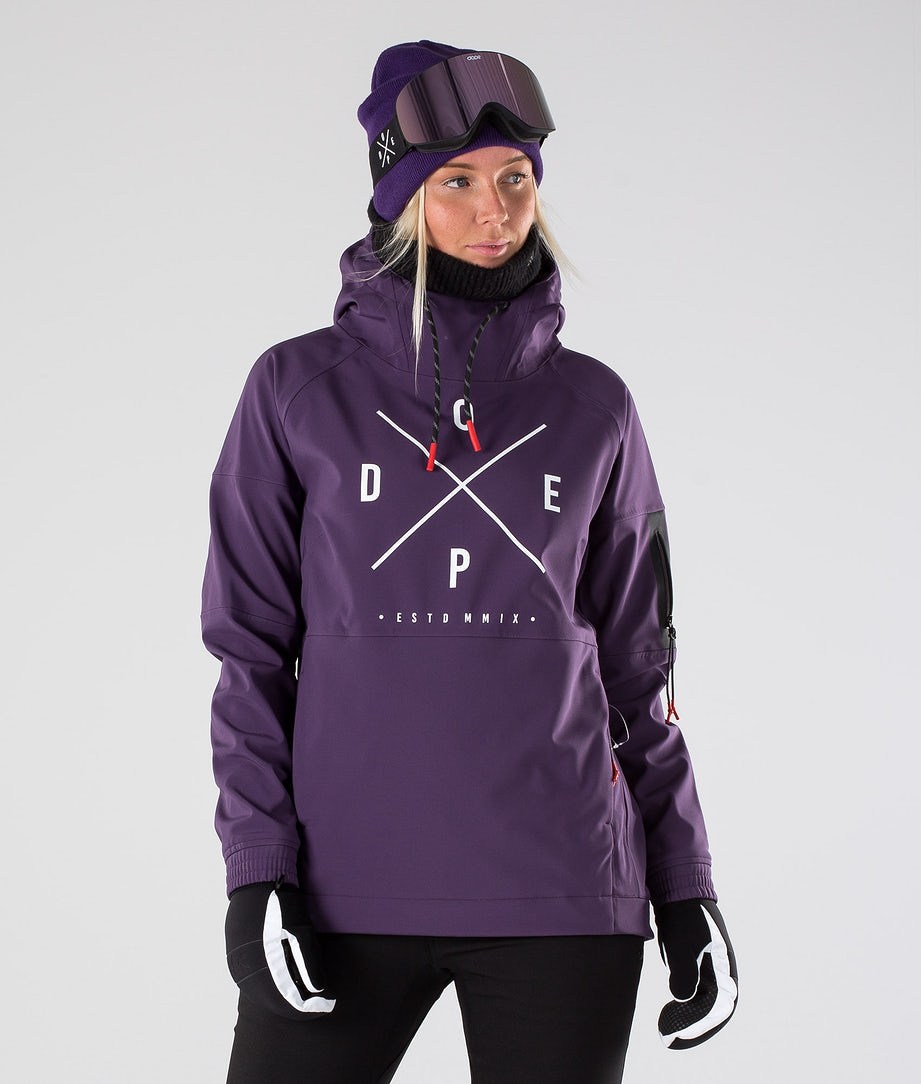 Dope Rambler MTE W Skijacke Grape