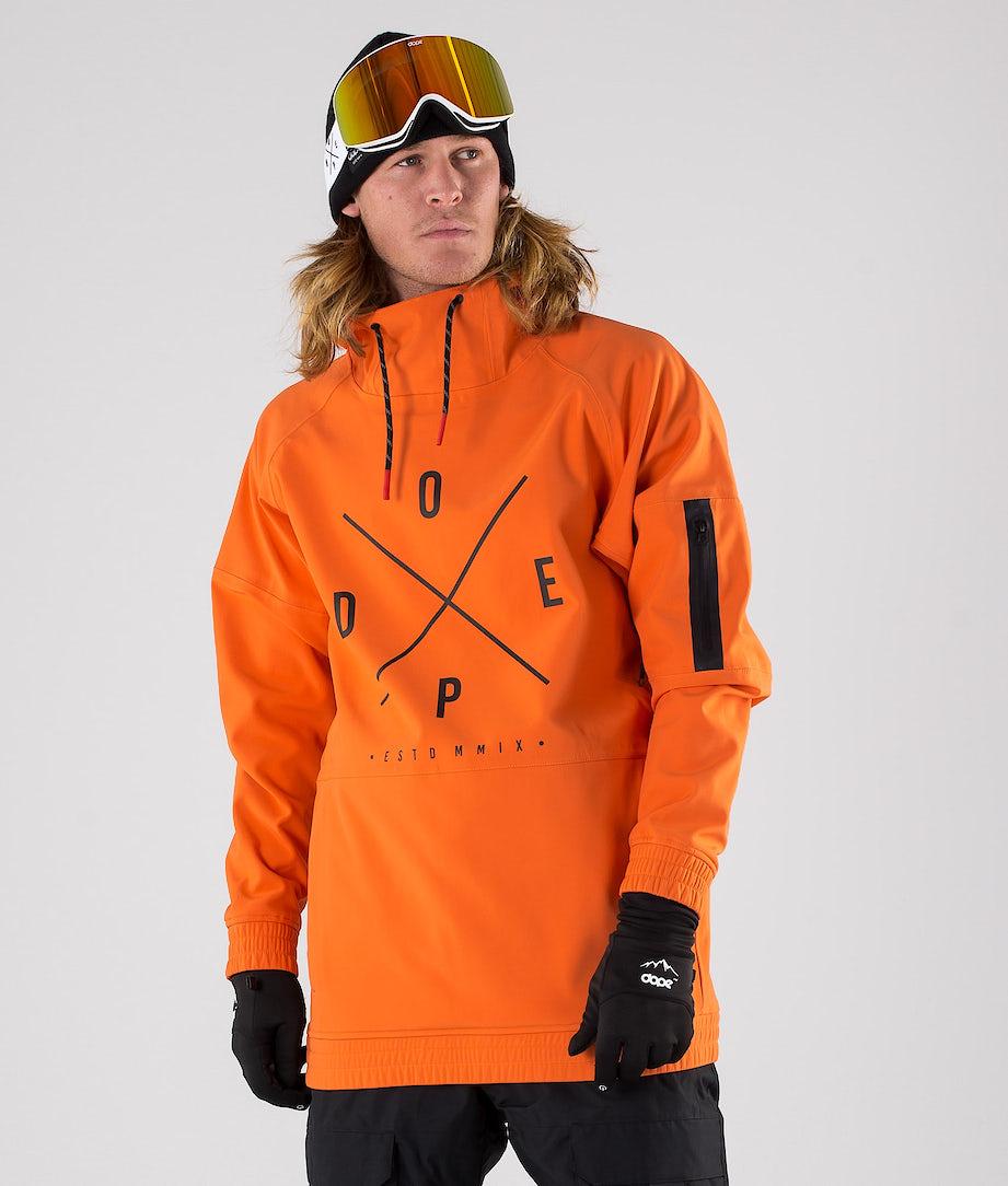 Dope Rambler MTE Skijacke Orange