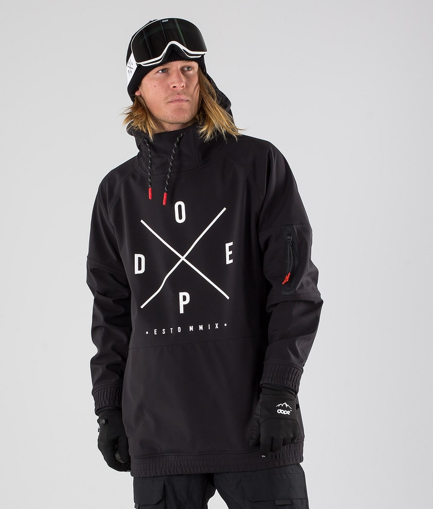 Dope Rambler MTE Giacca da Snowboard Black