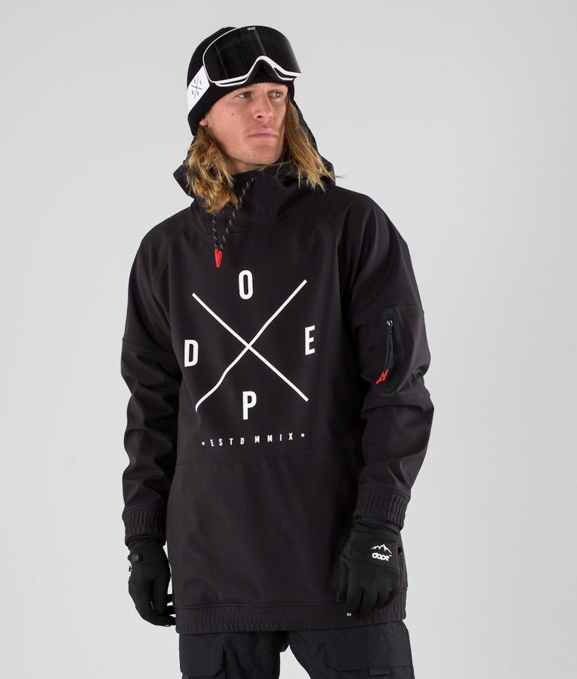 Dope Rambler MTE Skijacke Black