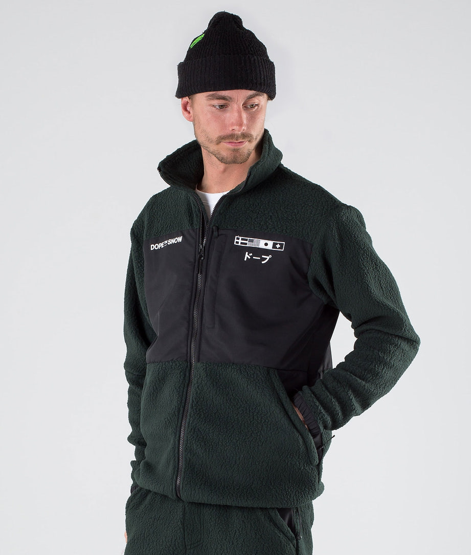 Dope KB Ollie Jacke Green Black
