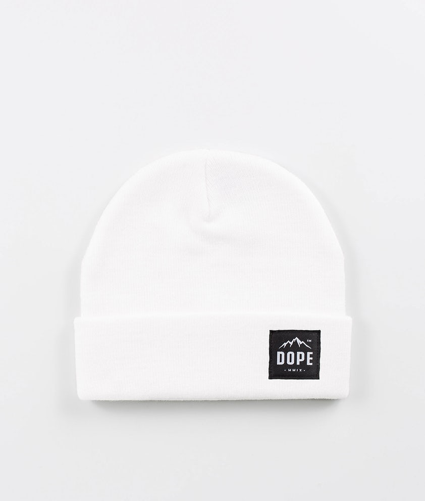 Dope Paradise Beanie Optic White