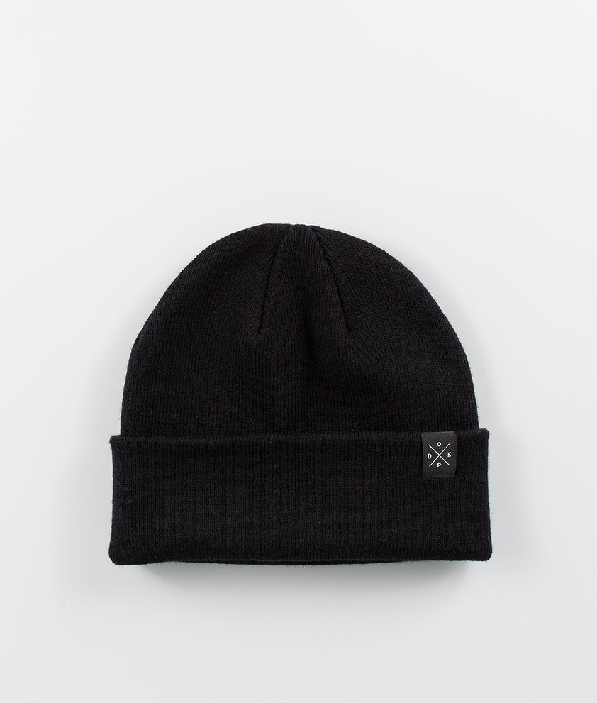 Dope Folded Solitude Bonnet Black