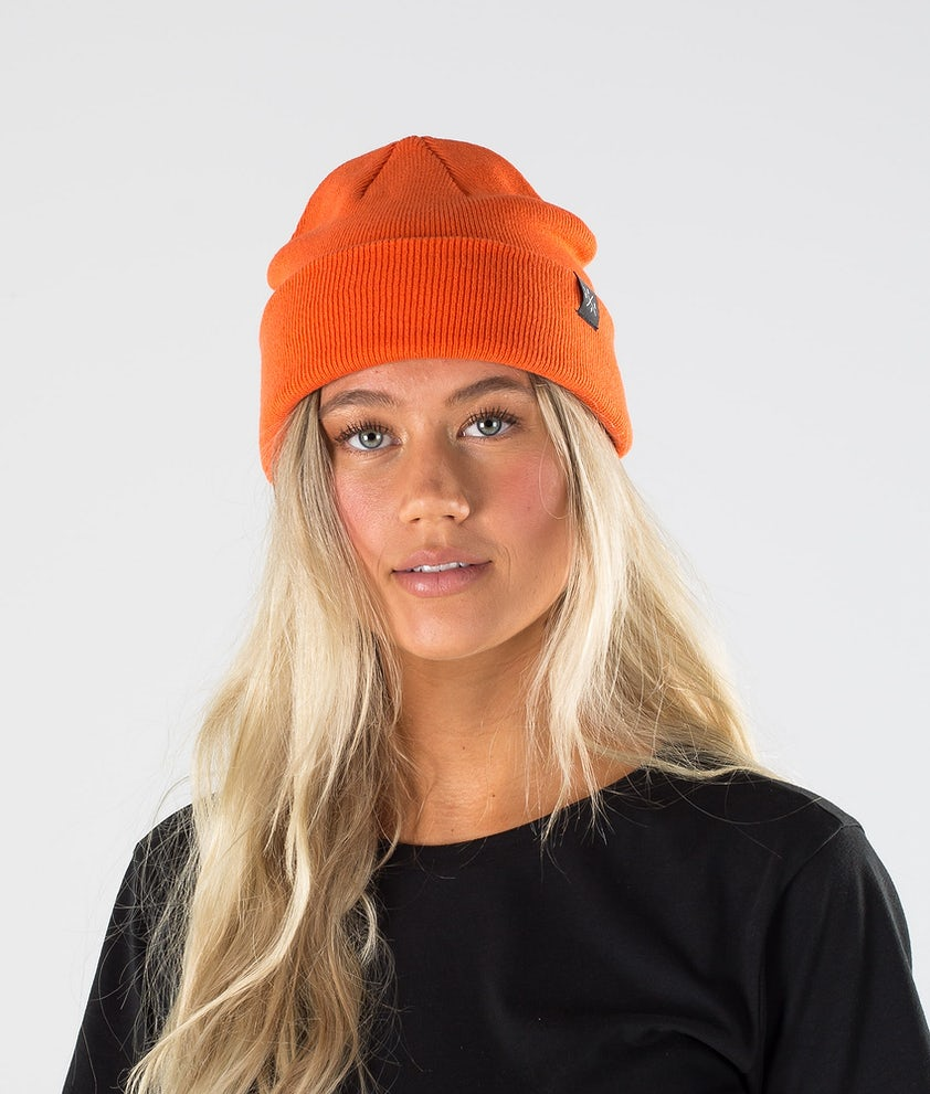 Dope Solitude Beanie Orange