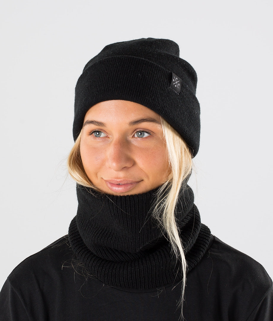 Dope 2X-UP Knitted Facemask Black