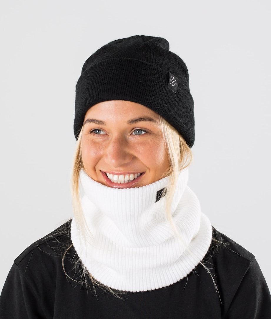 Dope 2X-UP Knitted Skimaske Optic White