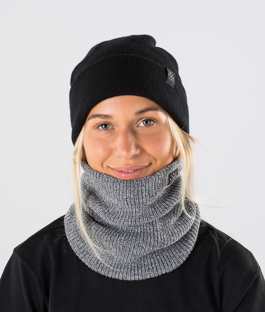 Dope 2X-UP Knitted Facemask Grey Melange