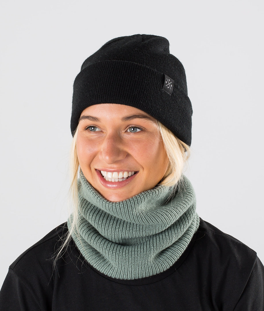 Dope 2X-UP Knitted Skimaske Faded Green