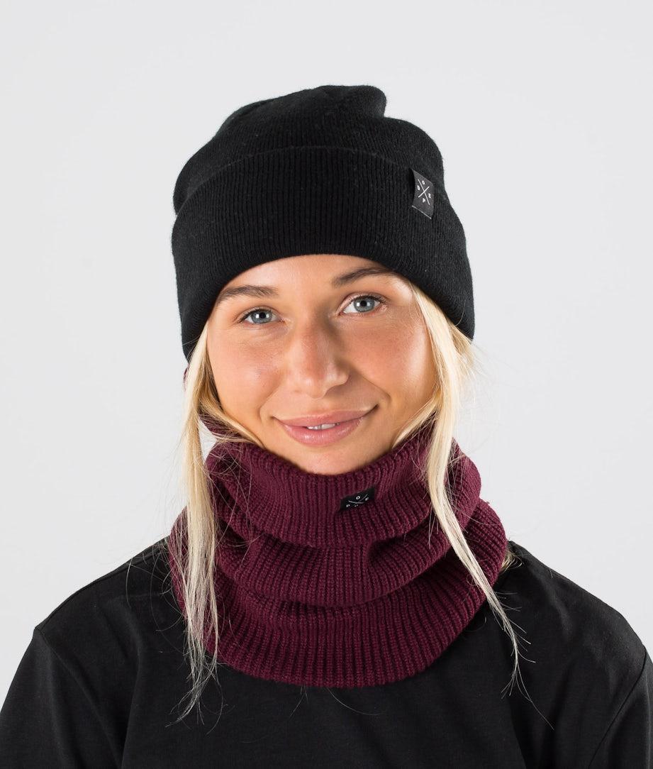 Dope 2X-UP Knitted Skimaske Burgundy