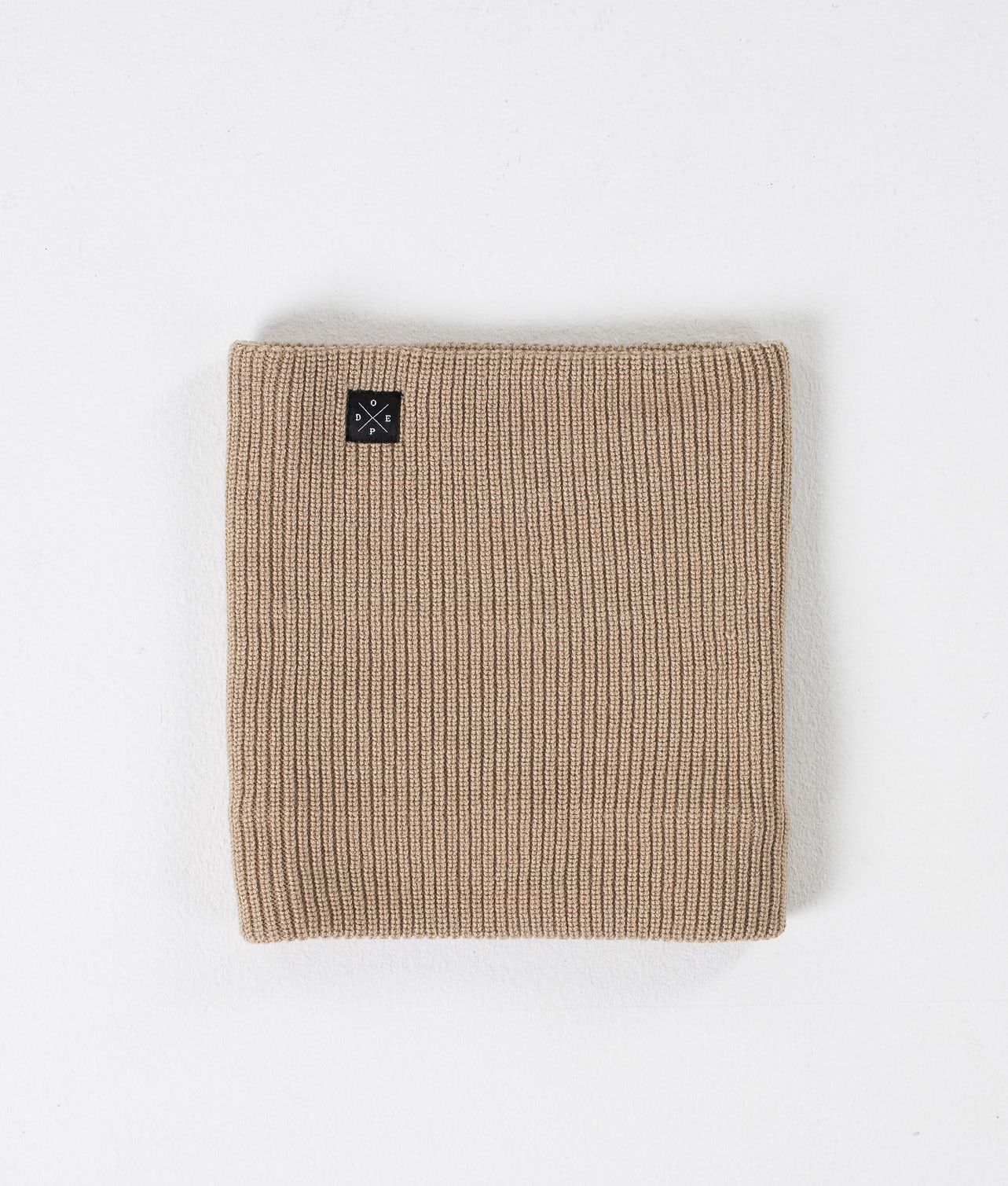 Dope 2X-UP Knitted Facemask Sand