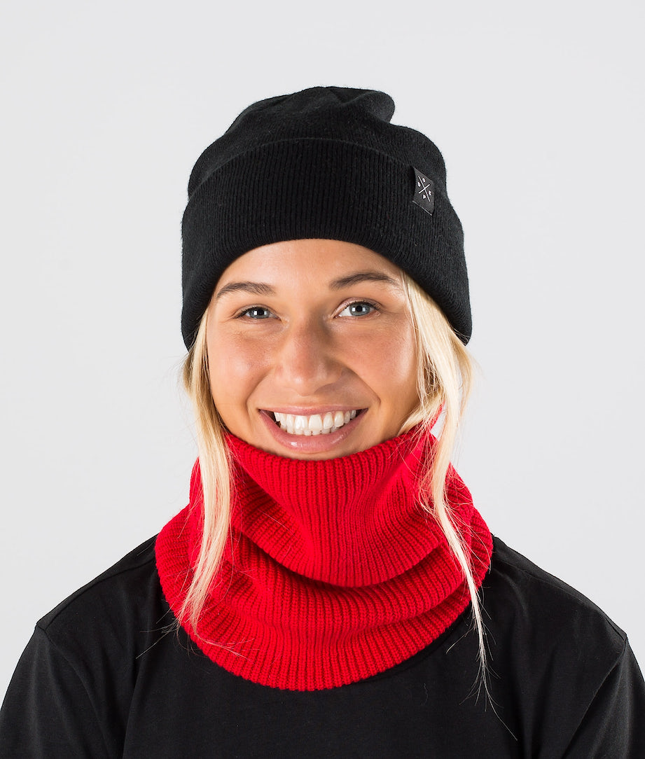 Dope 2X-UP Knitted Facemask Red