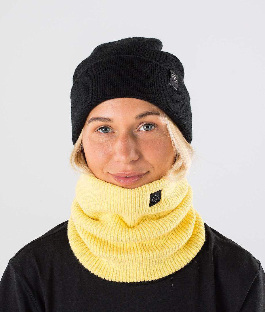 Dope 2X-UP Knitted Skimaske Yellow