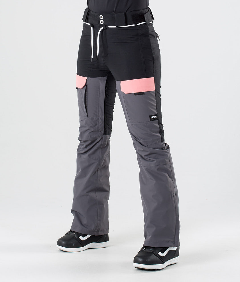 Dope Grace Snowboardbukse Black Pink Pearl