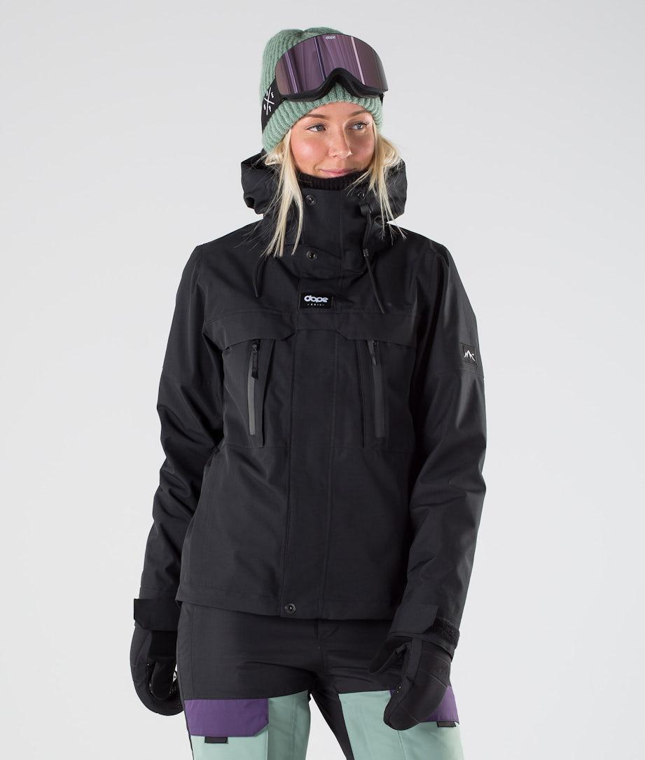 Dope Lunar W Ski Jacket Black
