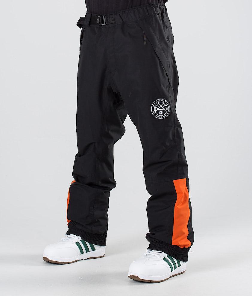 Dope Blizzard LE Pantalon de Snowboard Black Orange