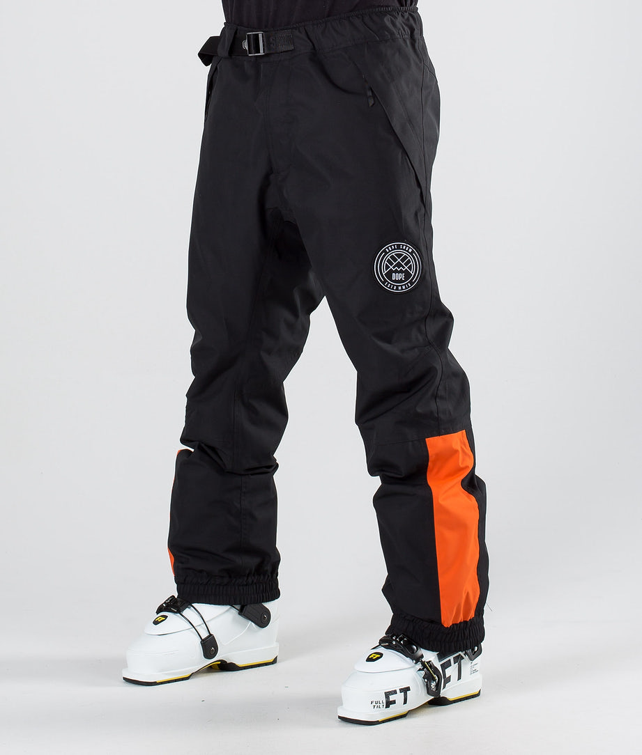 Dope Blizzard LE Ski Pants Black Orange
