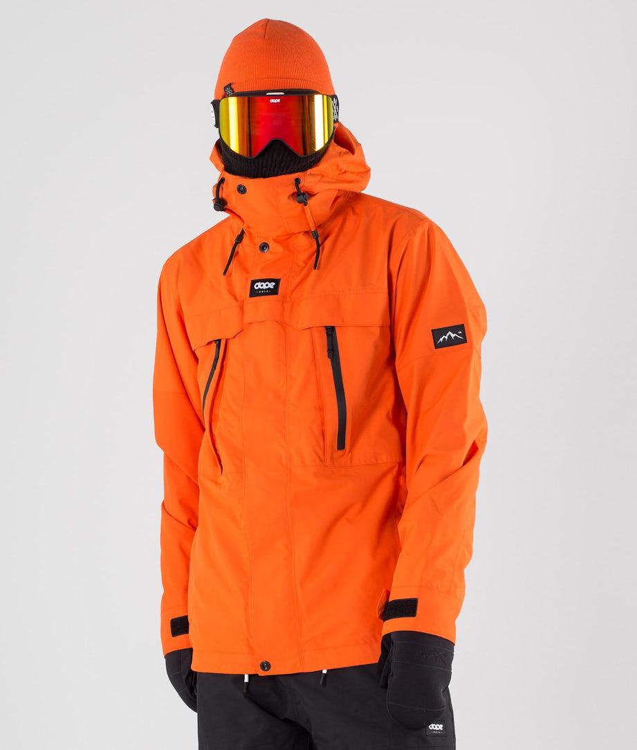 Dope Lunar Ski Jacket Orange