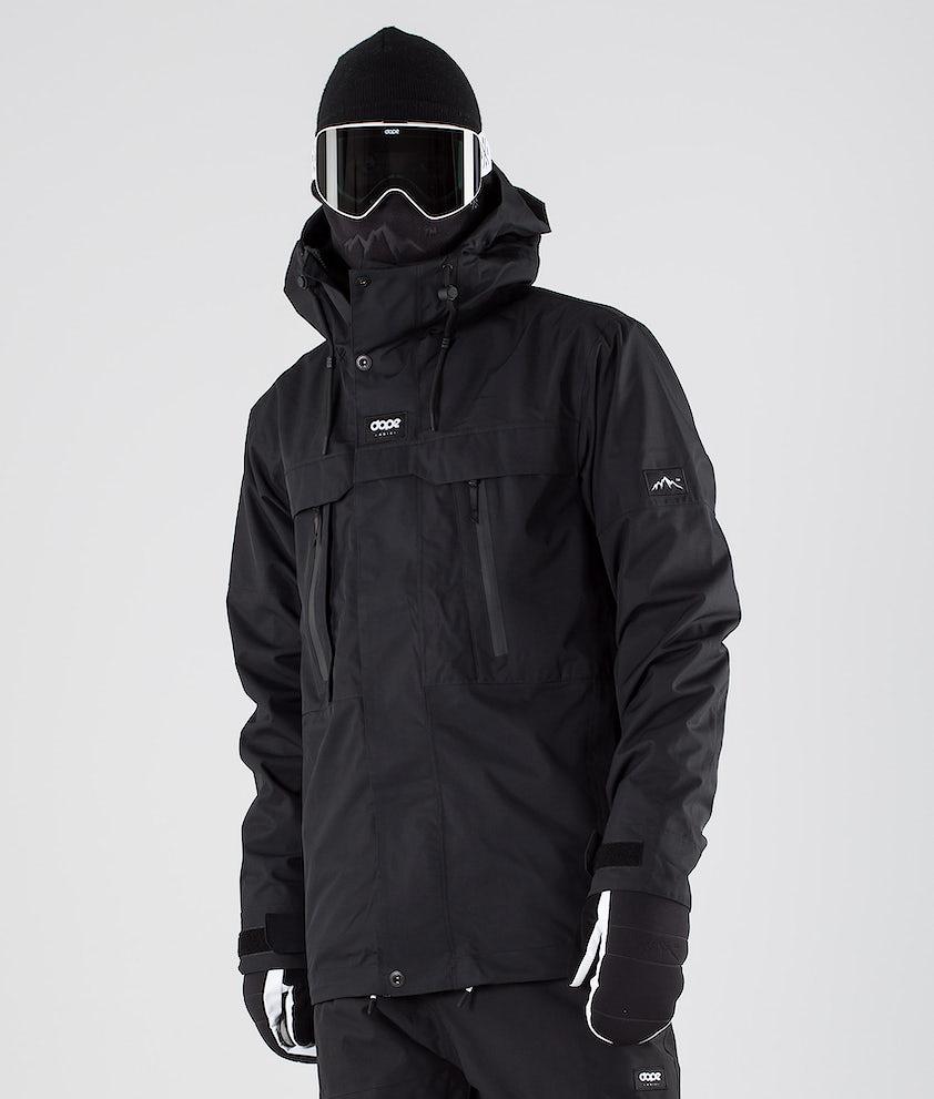 Dope Lunar Skijakke Black