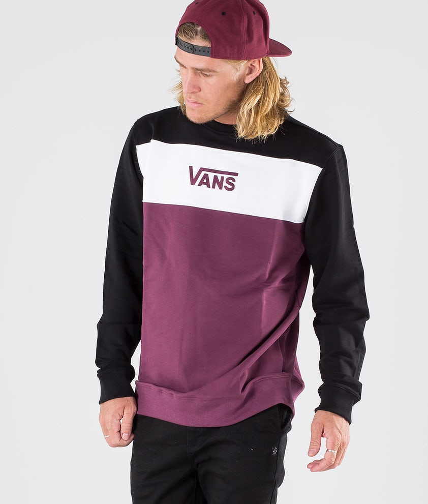 Vans Retro Active Crew Hood Prune/Black