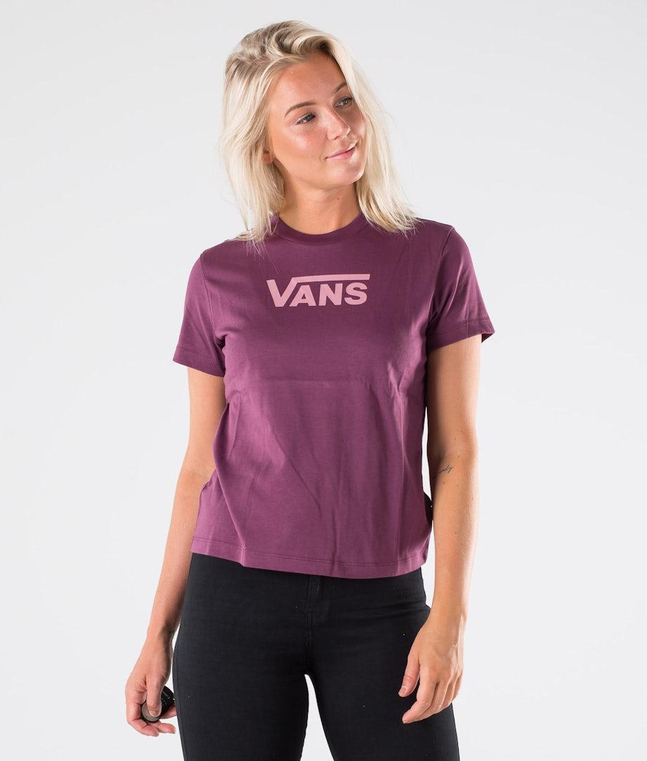 Vans Flying V Classic T-shirt Prune