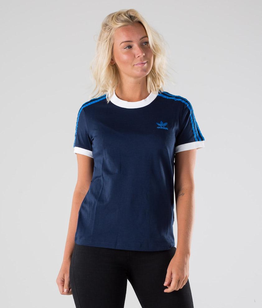 Adidas Originals 3-Stripes T-shirt Collegiate Navy