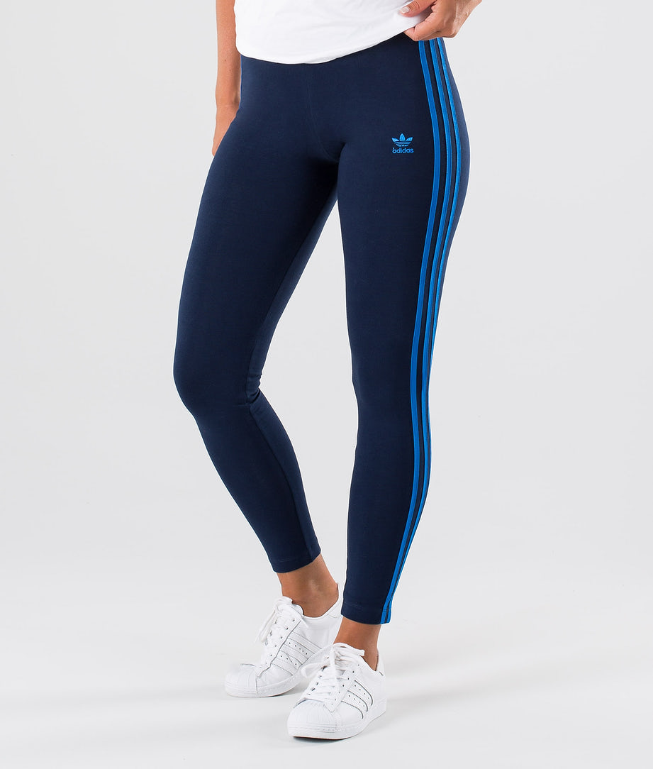 Adidas Originals 3-Stripes Leggings Collegiate Navy/Bluebird