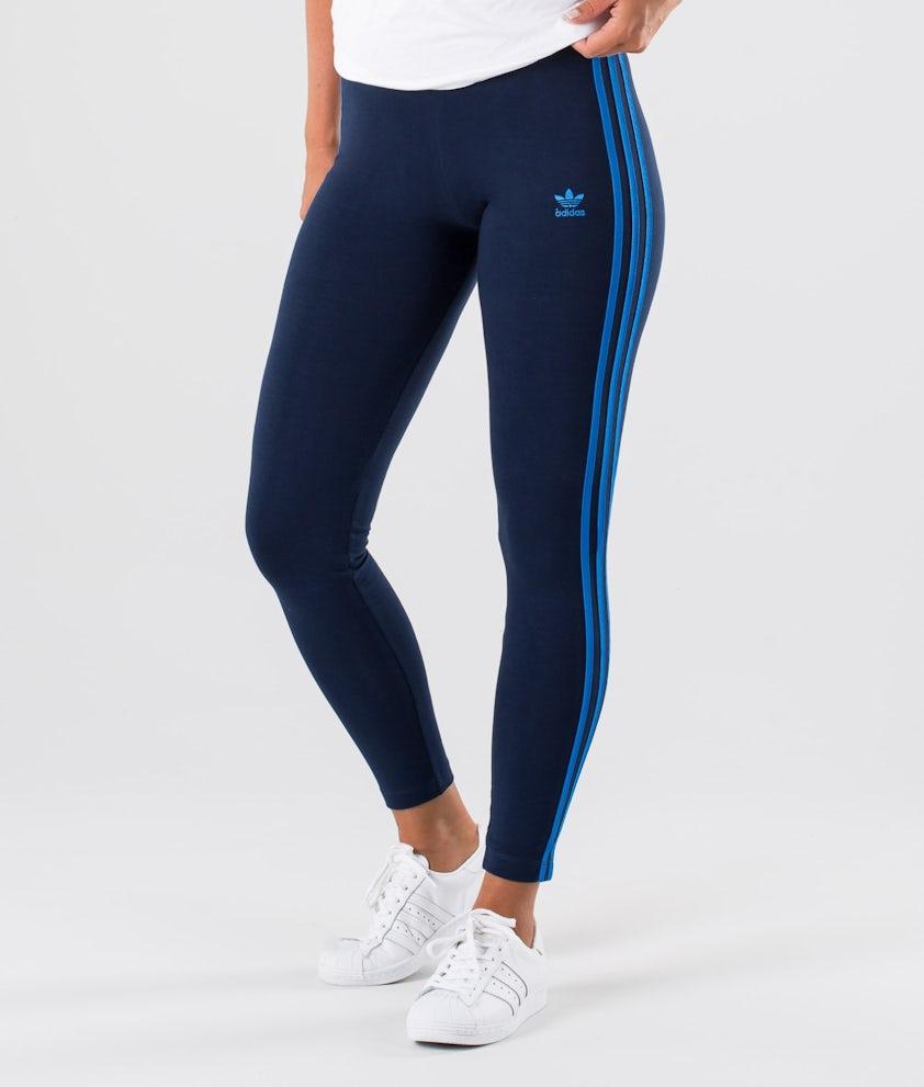 Adidas Originals 3-Stripes Leggingsit Collegiate Navy/Bluebird