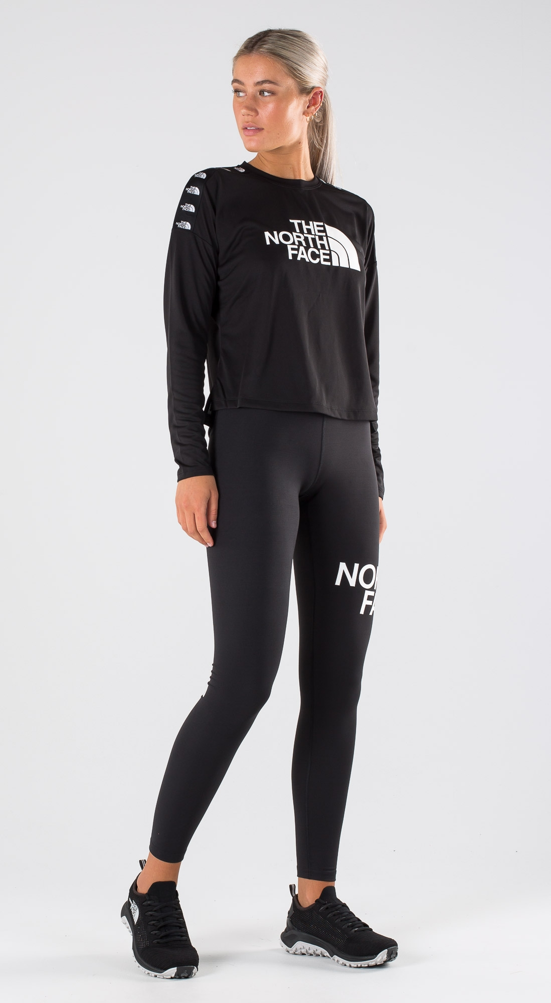 The North Face TNL Crop LS Outfit Ridestore