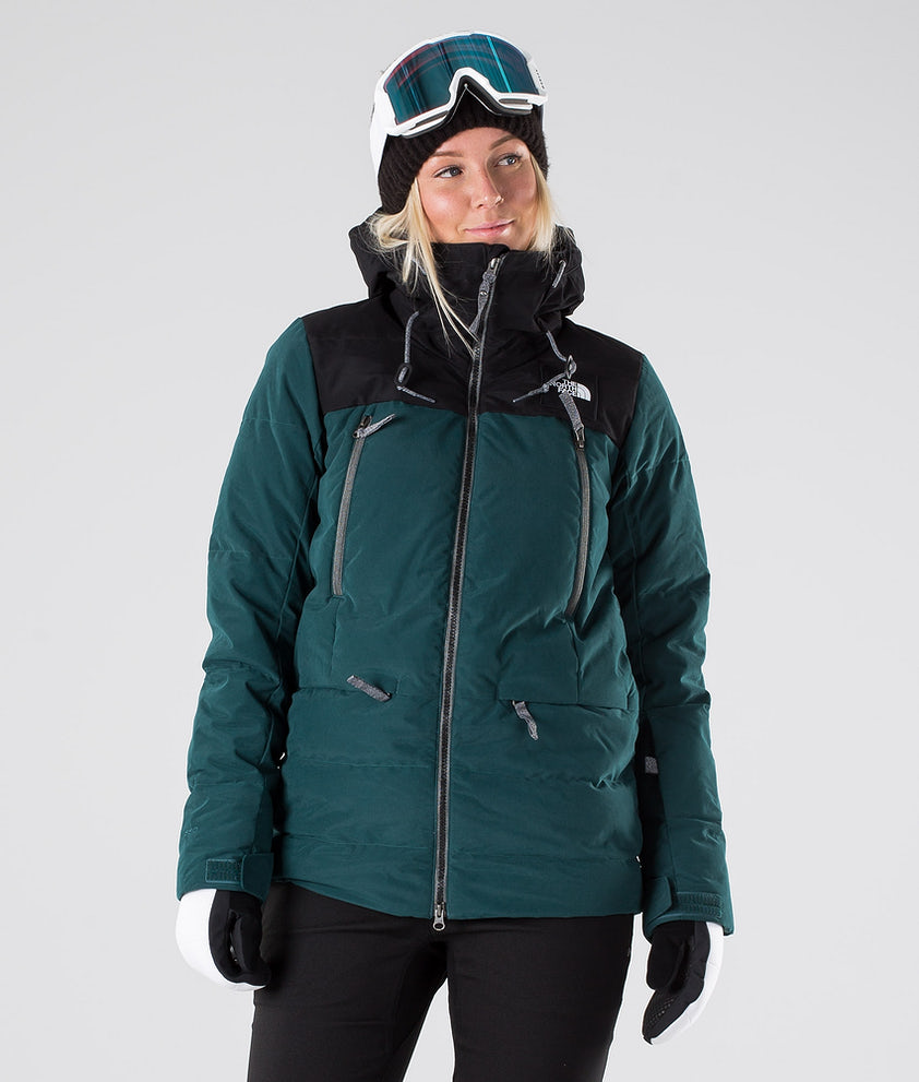 The North Face Pallie Down Ski jas Ponderosa Green/Tnf Black