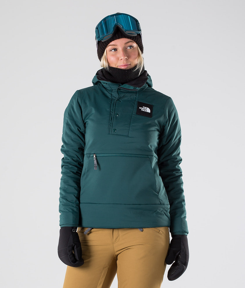 The North Face MTN Shredshirt Skijakke Ponderosa Green