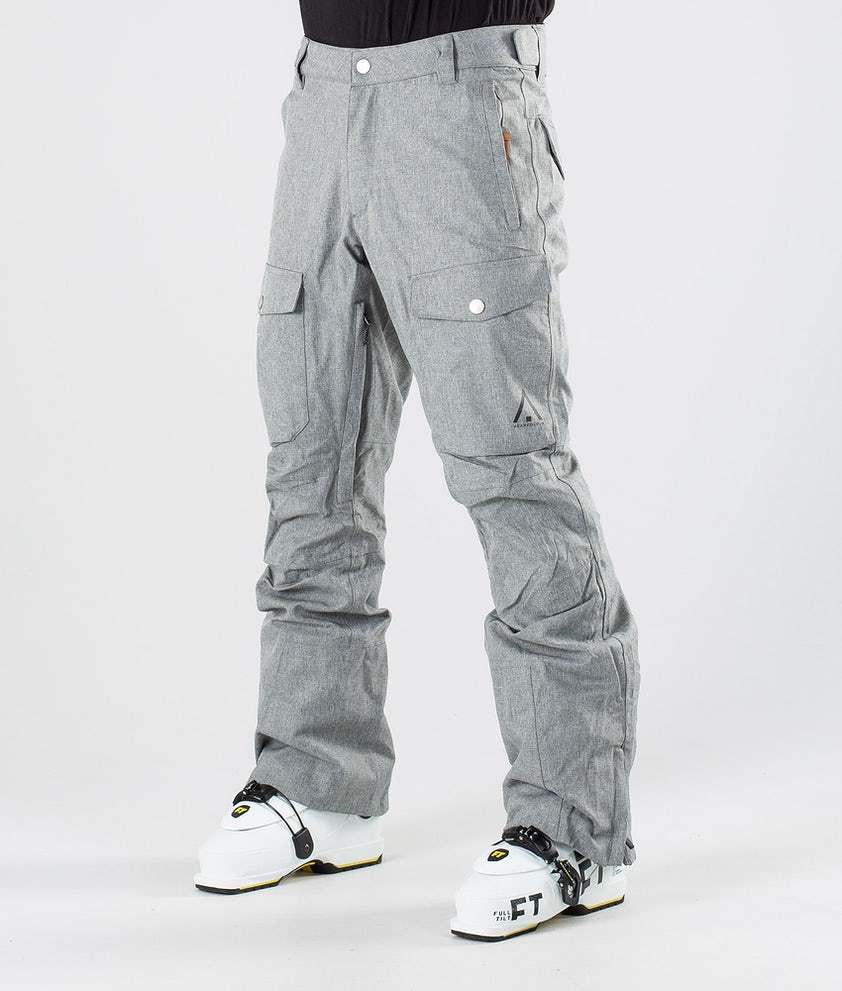 WearColour Shadow Pantaloni da sci Grey Melange
