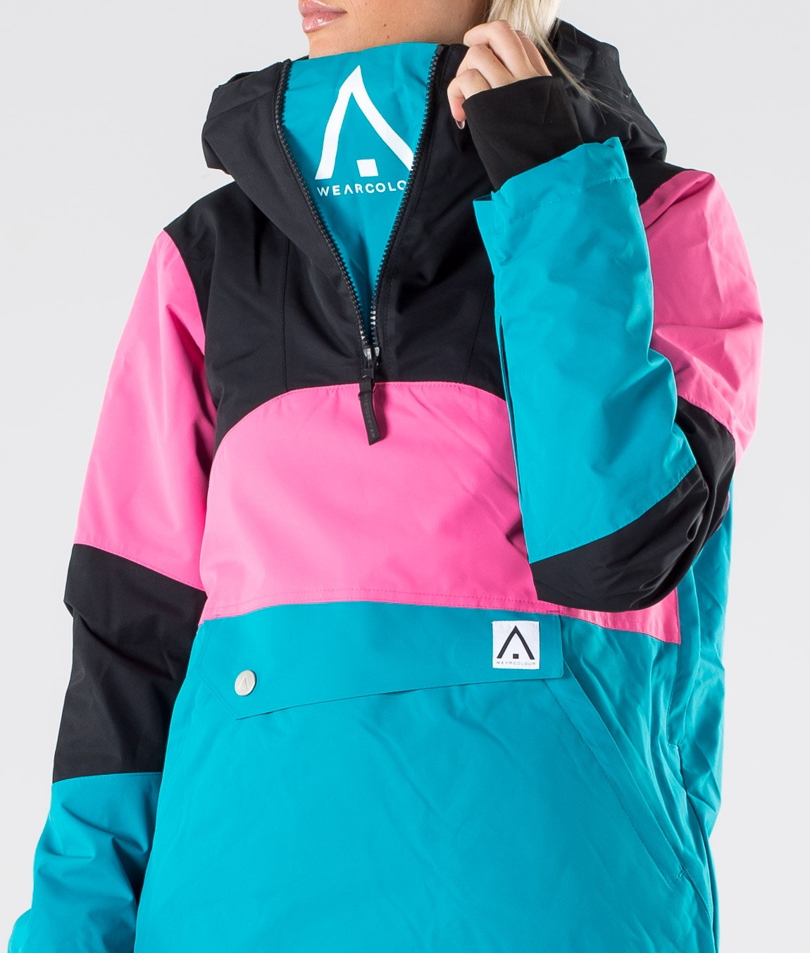 WearColour Homage Anorak Skijakke Enamel Blue