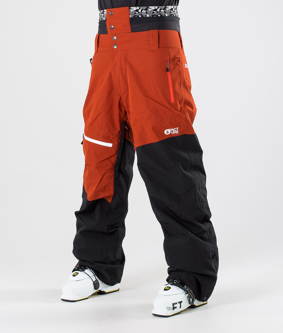 Picture Alpin Pantalon de Ski Black Brick