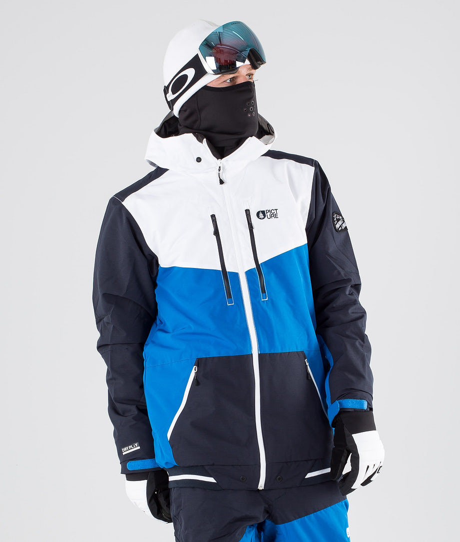 Picture Panel Veste de Ski Blue