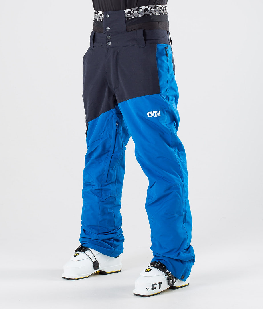 Picture Panel Pantalon de Ski Blue