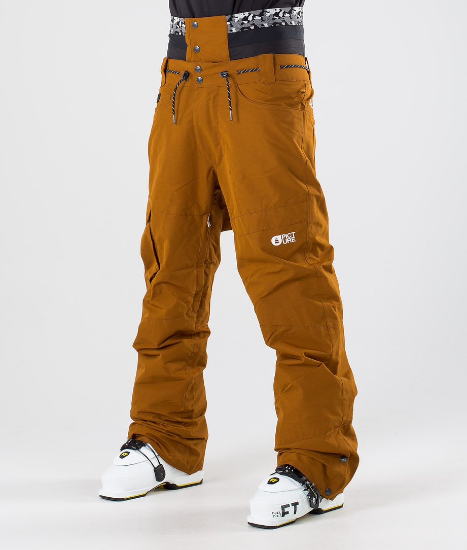 Picture Under Pantalon de Ski Camel