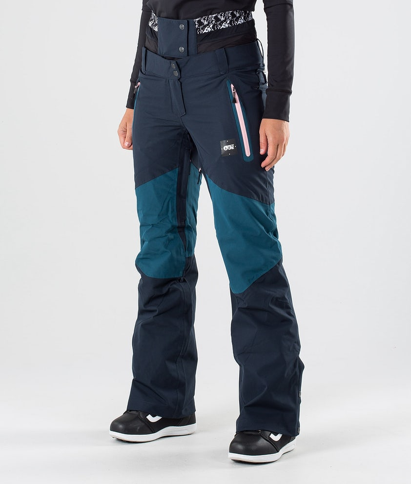 Picture Seen Snow Pants Petrol Blue